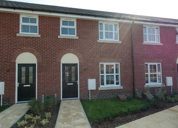 Thumbnail 3 bed terraced house to rent in Binyon Close, Stowmarket, Suffolk