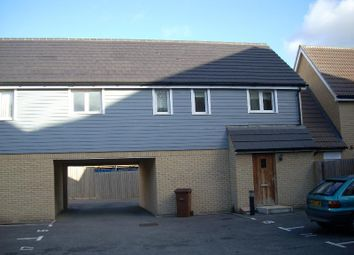 Thumbnail 2 bedroom flat to rent in Ganymede Close, Ipswich