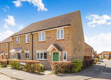 Thumbnail 3 bed semi-detached house for sale in Antelope Close, Whitfield, Dover, Kent