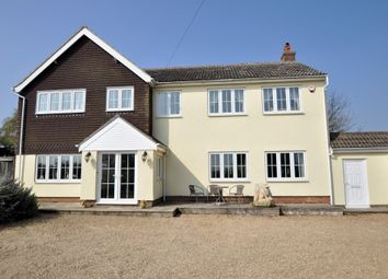 Thumbnail 5 bedroom detached house for sale in Chelmondiston, Ipswich, Suffolk