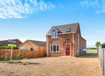 Thumbnail 4 bed detached house for sale in Back Road, Murrow, Wisbech