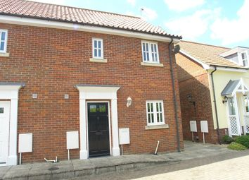 Thumbnail 3 bedroom end terrace house for sale in Old School Drive, Reydon, Southwold