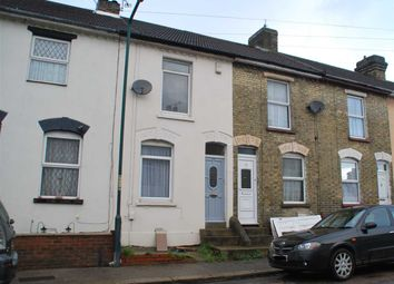 Thumbnail 2 bed terraced house for sale in Montfort Road, Strood, Rochester