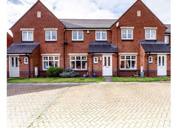 Thumbnail 3 bed town house for sale in Freer Drive, Burntwood