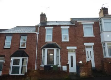 Thumbnail 2 bed terraced house to rent in Coleridge Road, St. Thomas, Exeter