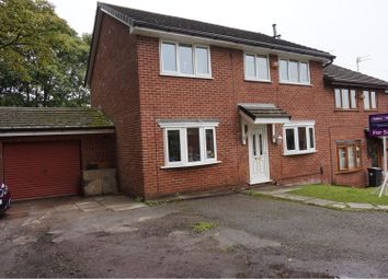 Thumbnail 5 bed semi-detached house for sale in Riverside Drive, Stoneclough, Manchester