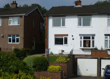 Thumbnail 3 bed semi-detached house for sale in Mollatts Close, Leek, Staffordshire