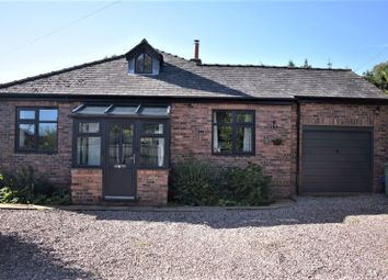 Thumbnail 3 bed detached bungalow for sale in School Lane, Bronington, Whitchurch