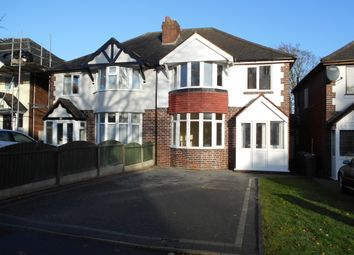 Thumbnail 3 bed semi-detached house to rent in Redacre Road, Sutton Coldfield, West Midlands