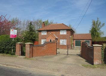 Thumbnail 3 bed detached house for sale in Dereham Road, Mattishall, Dereham
