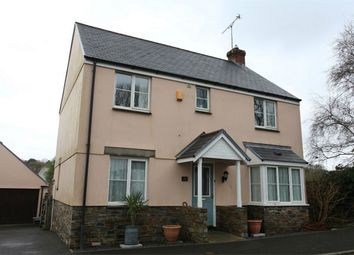 Thumbnail 4 bed detached house for sale in Clann Meadows, Lanivet, Bodmin, Cornwall