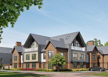"Thumbnail 2 bed flat for sale in ""Chieftain"" at Kitsmead Lane, Longcross, Chertsey"