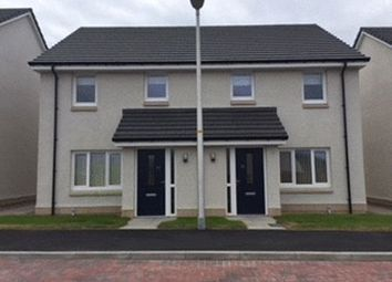 Thumbnail 2 bed semi-detached house for sale in Broom Court, Conon Bridge, Dingwall