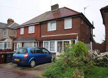 Thumbnail 3 bed semi-detached house for sale in Frizlands Lane, Dagenham