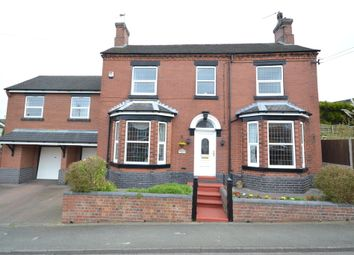 Thumbnail 5 bed detached house for sale in Chester Road, Audley, Stoke-On-Trent