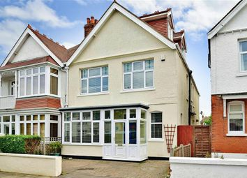 Thumbnail 5 bed semi-detached house for sale in Cliffe Avenue, Margate, Kent