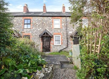 Thumbnail 2 bed terraced house to rent in The Hill, Kilmington, Axminster, Devon