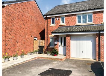 Thumbnail 3 bed semi-detached house for sale in College Row, Melksham