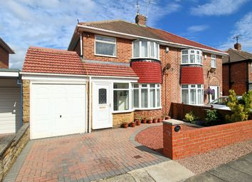 Thumbnail 3 bed semi-detached house for sale in Alston Crescent, Seaburn Dene, Sunderland