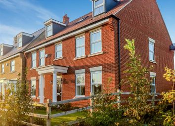 Thumbnail 5 bedroom town house for sale in Lannesbury Crescent, St. Neots