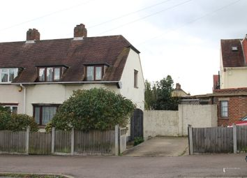 Thumbnail 3 bed end terrace house for sale in Gobions Avenue, Collier Row, Romford