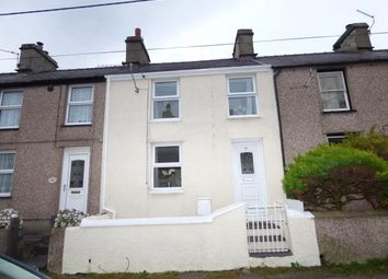 Thumbnail 2 bed terraced house for sale in Water Street, Llanllechid, Gwynedd
