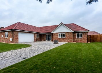 Thumbnail 3 bed detached bungalow for sale in New Bungalows, Tower Drive, Woodhall Spa