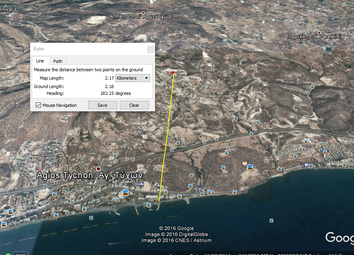 Thumbnail Land for sale in Limassol North, Agios Tychon, Limassol, Cyprus