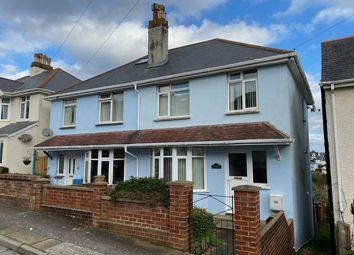 3 bed semi-detached house for sale in Barnfield Road, Paignton, Devon TQ3