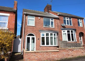 Thumbnail 3 bed semi-detached house for sale in Queens Road North, Eastwood, Nottingham