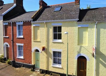 Thumbnail 3 bed terraced house for sale in Sandford Walk, Newtown, Exeter, Devon