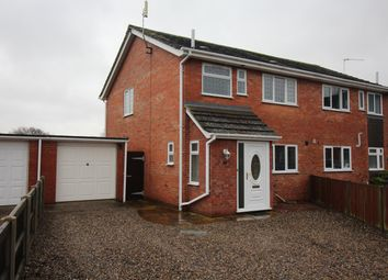 Thumbnail 3 bedroom semi-detached house for sale in St. Pauls Close, Horsford, Norwich