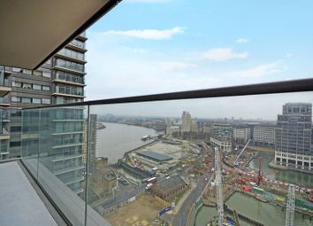Thumbnail 2 bedroom flat for sale in Landmark East Tower, Canary Wharf, London