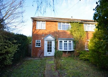 Thumbnail 3 bed semi-detached house for sale in The Street, Tongham, Farnham, Surrey