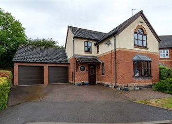 Thumbnail 4 bed detached house for sale in Viking Way, Thurlby, Bourne