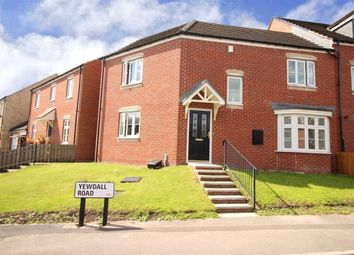 Thumbnail 3 bed semi-detached house for sale in Yewdell Road, Rodley