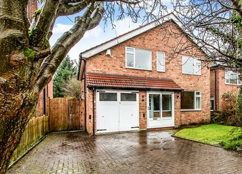 Thumbnail 4 bed detached house for sale in Robins Close, Bramhall, Stockport