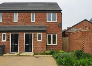 Thumbnail 2 bed semi-detached house for sale in Hever Close, St Crispins, Northampton