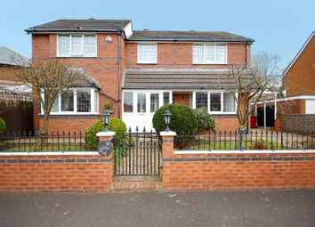 Thumbnail 4 bedroom detached house for sale in Roundhay, Blackpool