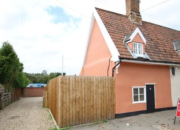 Thumbnail 1 bed cottage for sale in Ipswich Road, Claydon, Ipswich, Suffolk