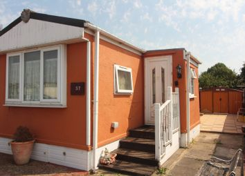 Thumbnail 1 bed mobile/park home for sale in Blue Sky Close, Bradwell