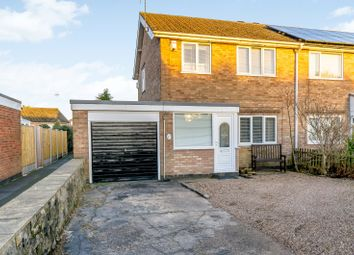 Thumbnail 3 bed semi-detached house for sale in Common Lane, Alfreton