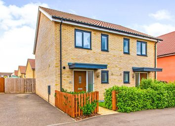 Thumbnail 2 bed semi-detached house for sale in Gladiator Road, Upper Cambourne, Cambridge