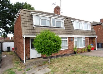 Thumbnail 3 bed semi-detached house for sale in Vicarage Close, Newbold Coleorton, Leicestershire