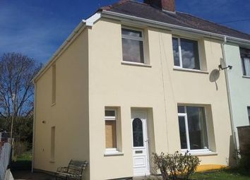 Thumbnail 3 bed semi-detached house to rent in Greenfield Row, Cardigan
