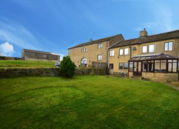 Thumbnail 4 bed farmhouse for sale in Moor End Road, Mount Tabor, Halifax