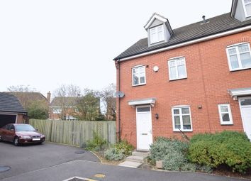 Thumbnail 3 bedroom town house for sale in Kirstall Close, Carlton Boulevard, Lincoln