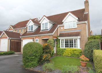 Thumbnail 4 bedroom detached house for sale in Knightsbridge Drive, Nuthall, Nottingham