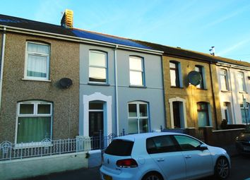 Thumbnail 3 bed terraced house for sale in Elizabeth Street, Llanelli, Carmarthenshire
