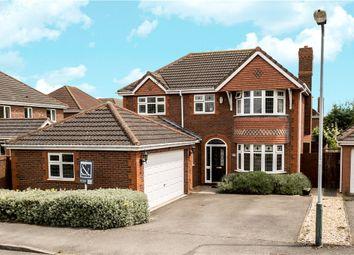 Thumbnail 4 bedroom detached house for sale in Jourdain Park, Heathcote, Warwick